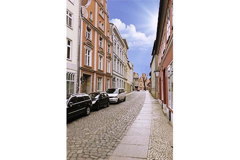 Ferienwohnung Truding in Stralsund in der Badestraße, Altstadt