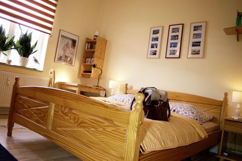 Ferienwohnung Truding in Stralsund, Schlafzimmer