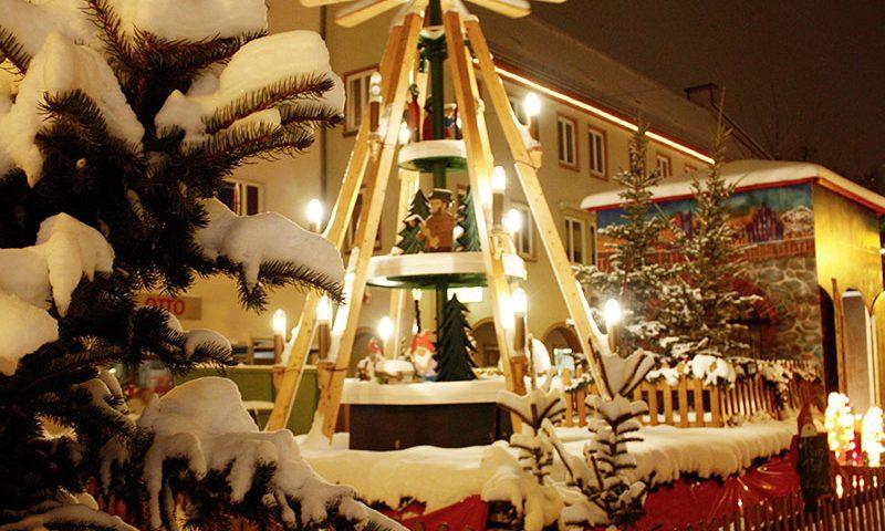 Stralsund Weihnachtsmarkt Ferienwohnung Truding
